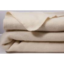 Scheerwollen deken Dreamtime eco ivoor