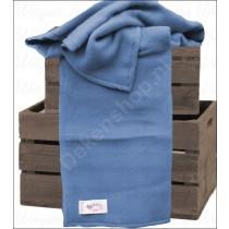 Aabe deken Novum blauw