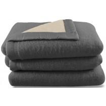 Scheerwollen deken Dreamtime grijs