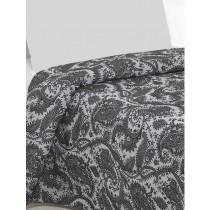 Bedsprei Cevilit Lyon zwart/grijs 1