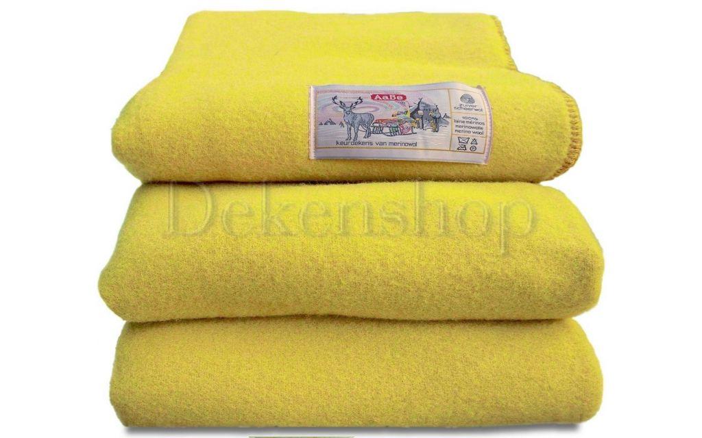 AaBe deken Orion citroengeel 420 gram