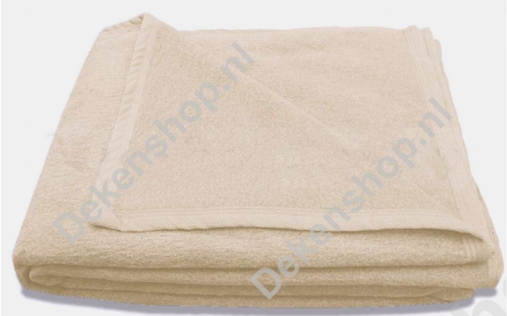Katoenen deken CoolCotton ivoor