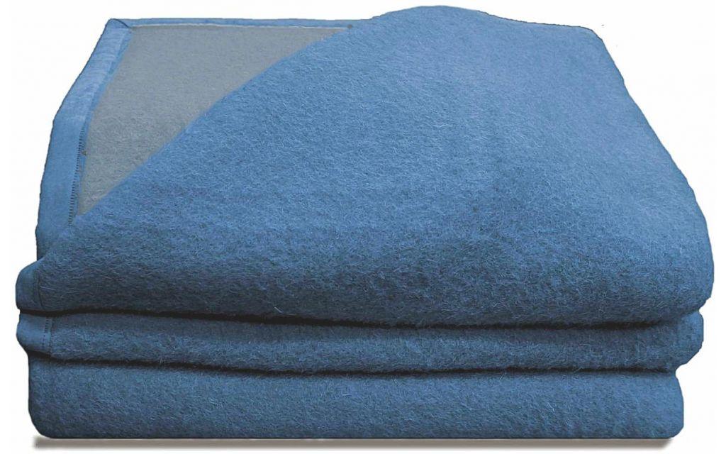 Good Night scheerwollen deken blauw 500 gram