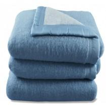 Comfort acryl deken blauw 500 gram