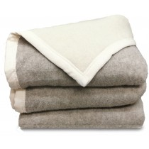 Scheerwollen deken Dreamtime Eco beige/ivoor 500 gram