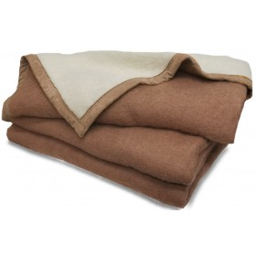 Aabe deken Isola  camel 720 gram
