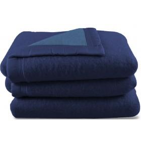 Scheerwollen deken Dreamtime donkerblauw 500 gram