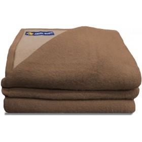 Good Night scheerwollen deken beige 600 gr.