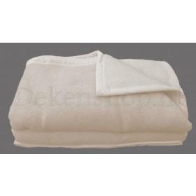 Seasons scheerwollen deken ivoor 600 gram