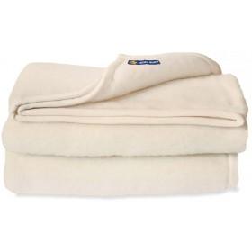 Good Night scheerwollen deken ivoor  500 gr.